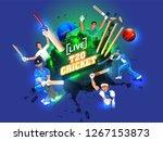 creative poster or banner... | Shutterstock .eps vector #1267153873