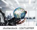 cropped image of business woman ... | Shutterstock . vector #1267169989