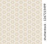 seamless pattern based on... | Shutterstock .eps vector #1267215499