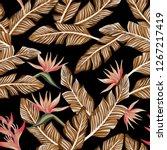 seamless vector composition... | Shutterstock .eps vector #1267217419