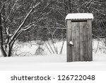 photo of a wooden structure... | Shutterstock . vector #126722048