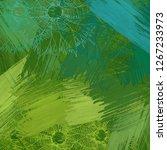 2d illustration. backdrop image.... | Shutterstock . vector #1267233973