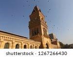 Empress market clock tower in Karachi, Pakistan