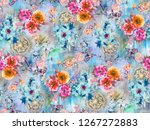 Hd Wallpaper Floral Colorful...