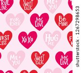 Seamless Pattern. True Love ...