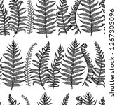 vector seamless pattern with... | Shutterstock .eps vector #1267303096