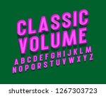 classic volume isolated english ... | Shutterstock .eps vector #1267303723