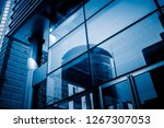 modern architecture tone close... | Shutterstock . vector #1267307053