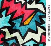Abstract Graffiti Seamless...