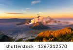 Mount Bromo Volcano  Gunung...