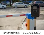 car park automatic entry system.... | Shutterstock . vector #1267315210