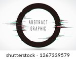circular abstract graphics ... | Shutterstock .eps vector #1267339579