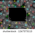 holiday background. silver... | Shutterstock . vector #1267373113