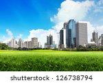 green city | Shutterstock . vector #126738794
