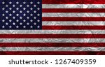 flag of the united states of... | Shutterstock . vector #1267409359