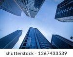 bottom view of modern... | Shutterstock . vector #1267433539