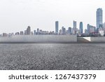 panoramic skyline and modern... | Shutterstock . vector #1267437379