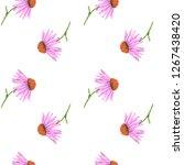 watercolor seamless pattern... | Shutterstock . vector #1267438420