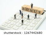 miniature people businessmen...   Shutterstock . vector #1267442680