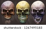 detailed graphic realistic cool ... | Shutterstock .eps vector #1267495183