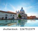 santa maria della salute in... | Shutterstock . vector #1267512379