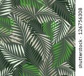 Seamless Fern Leaf Pattern....