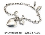 Silver Necklace  With Heart...