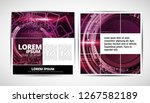 graphics brochures design... | Shutterstock .eps vector #1267582189