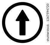 rounded arrow up vector...   Shutterstock .eps vector #1267594720