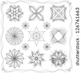 different style design elements.... | Shutterstock .eps vector #126761663