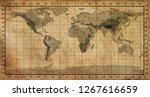 old world map | Shutterstock . vector #1267616659