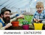 bio food production. bio food...   Shutterstock . vector #1267631950