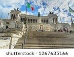 rome  italy   october 04  2018  ...   Shutterstock . vector #1267635166