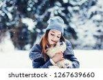 portrait of beautiful young...   Shutterstock . vector #1267639660