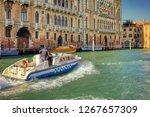 Venice Police Boat   Photo - Venezia, polizia in barca
