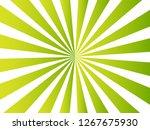 green radial background. vector | Shutterstock .eps vector #1267675930