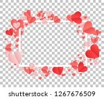 happy valentines day and...   Shutterstock .eps vector #1267676509