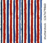 usa color style red and blue...   Shutterstock .eps vector #1267679860