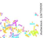sprinkles grainy. sweet...   Shutterstock .eps vector #1267705939