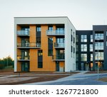 apartment residential home... | Shutterstock . vector #1267721800