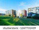 residential apartment houses... | Shutterstock . vector #1267731439