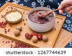 chinese northern cuisine  laba... | Shutterstock . vector #1267744639
