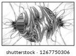 abstract wallpaper. fractal... | Shutterstock . vector #1267750306