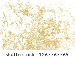 gold splashes texture. brush...   Shutterstock . vector #1267767769