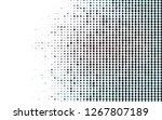 light blue vector background... | Shutterstock .eps vector #1267807189