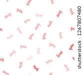 light red vector seamless...   Shutterstock .eps vector #1267807480