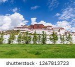 front view of the historic... | Shutterstock . vector #1267813723