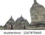 candi plaosan is a temple... | Shutterstock . vector #1267870660