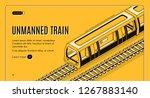 vector concept banner with... | Shutterstock .eps vector #1267883140