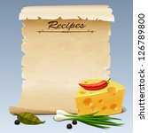 Recipes icon 2 - stock vector